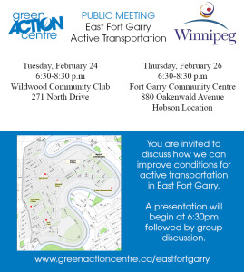 East Fort Garry AT Public Meeting